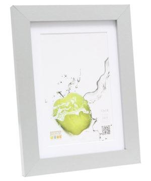 Fotolijst zilver met passe-partout