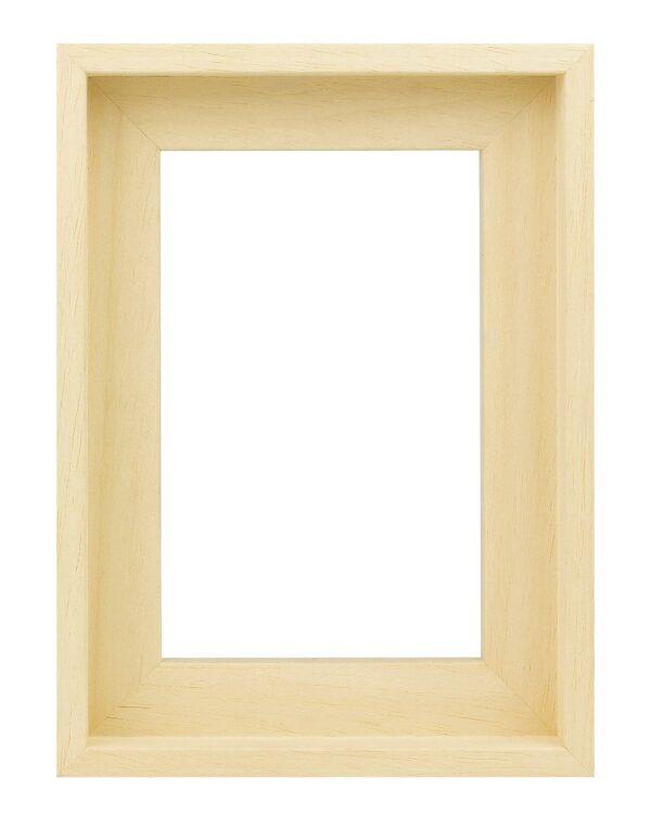 Houten baklijst Blank ongelakt zonder trap - 10mm